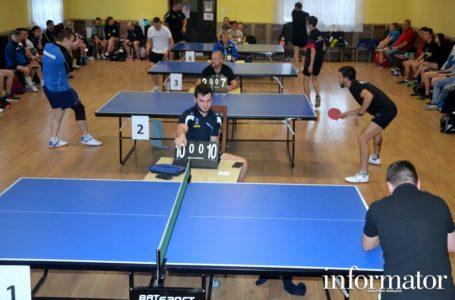 Jubileuszowe XXV Otwarte Mistrzostwa Wsi Łąkociny  w tenisie stołowym