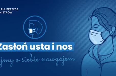 Obowiązek zakrywania ust i nosa w przestrzeni publicznej