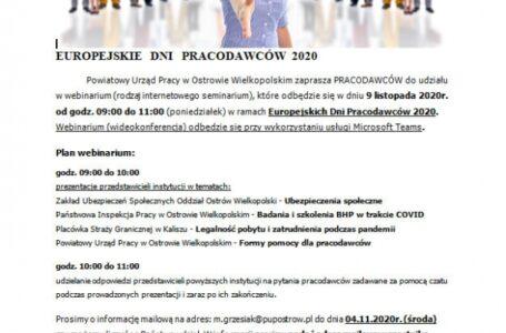 Internetowe seminiarium dla pracodawców