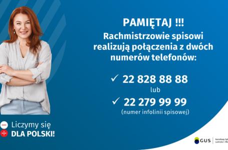 Telefony rachmistrzów spisowych NSP2021